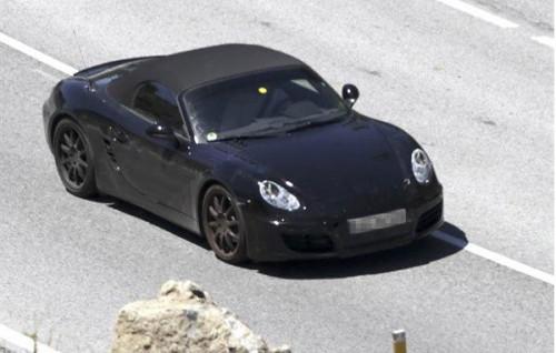 2012 Porsche Boxster Spy Photos