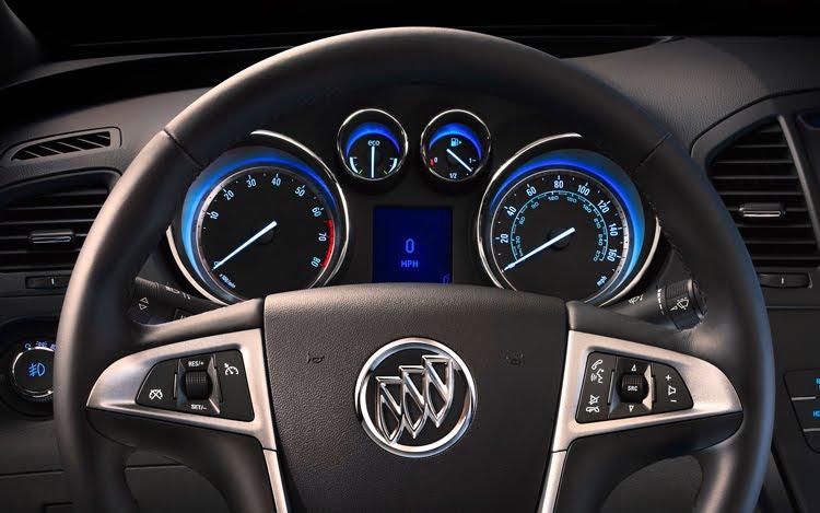 2012 Buick Regal eAssist interior