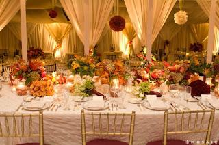 Mia Rose Bridal Wedding Blog: Gold, burnt orange, autumn wedding ideas