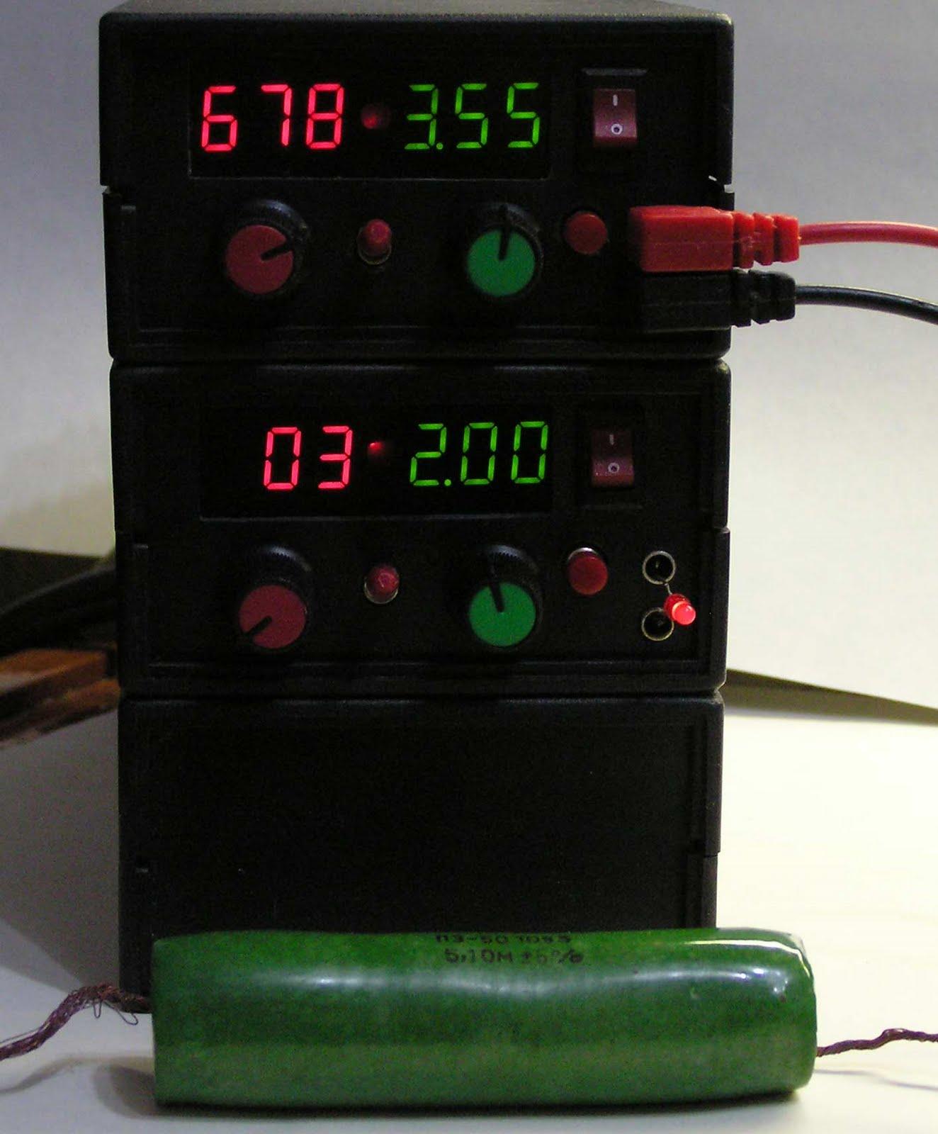 простая схема выключателя против броска напряжения