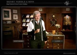 Henry Needle in una delle sue pose migliori!