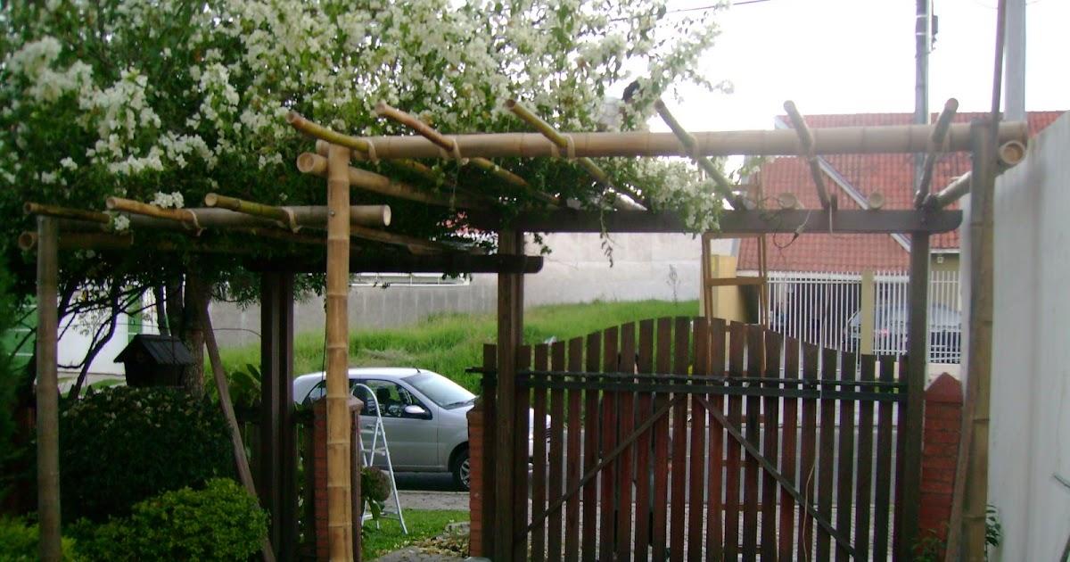 Projethos p rgola de bambu - Pergola bambu ...