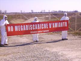 NO alle megadiscariche di amianto in provincia di Cremona! L'AMIANTO UCCIDE