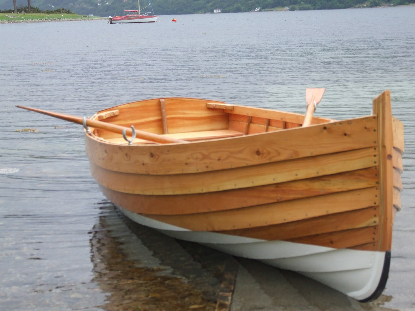 Wooden boat building guide