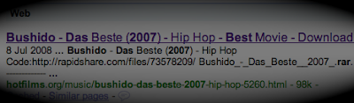 Where You Can Diretly Download The German Banger - Bushido Das Beste (The Best) - 2007