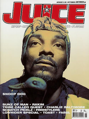 Juice Magazin Cover: September October 1998 - Snoop Dog