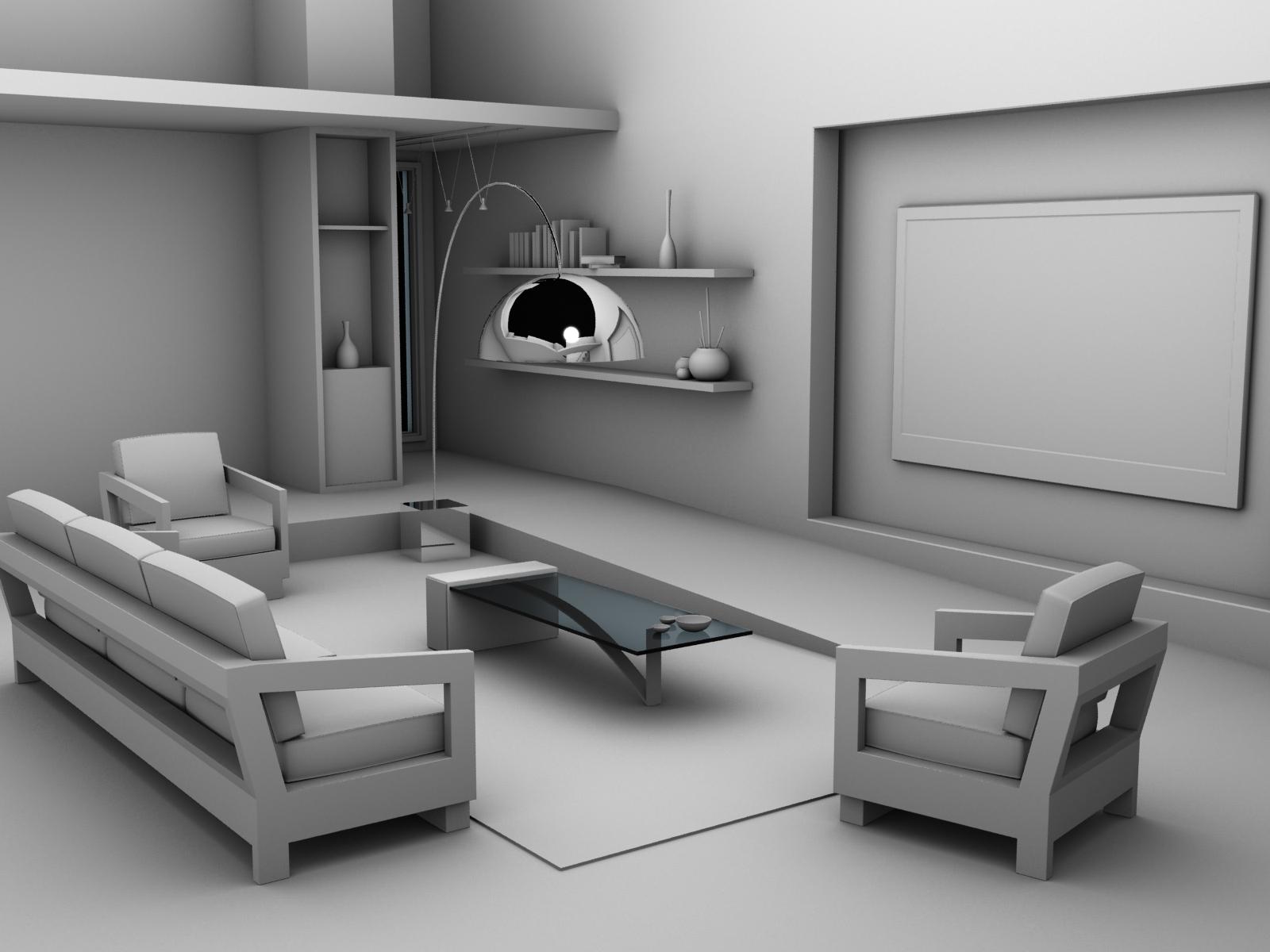 sylvain m 3d high resolution temps r el wip design d 39 int rieur. Black Bedroom Furniture Sets. Home Design Ideas