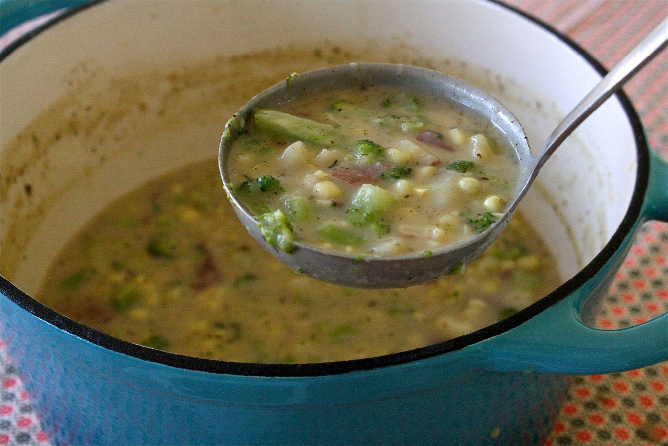 Potato Broccoli Soup Bacon