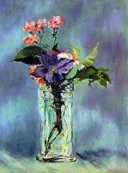 Jarrón con Flores de Manet. (Francia1832-1883)