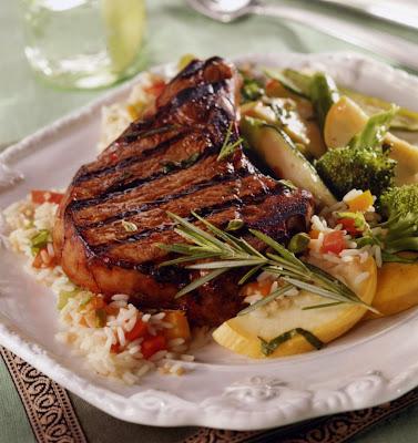 Recipes for grilled pork steaks