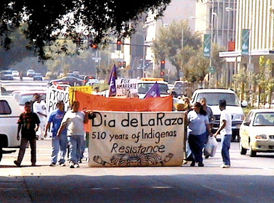 Lamina El DIA De La Raza http://vocationstory.blogspot.com/2009/10/dia-de-la-raza-learning-poverty-through.html