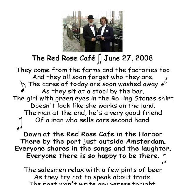 Andre rieu the rose lyrics