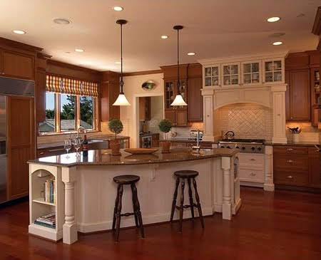 Blue sunflower interiors and design traditional for Different styles of kitchen cabinets