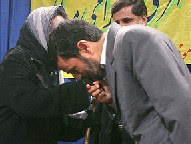 President Ahmadinejad's kiss