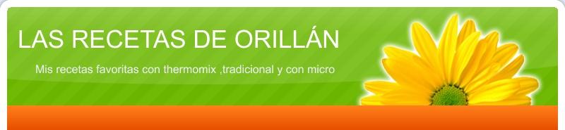 LAS RECETITAS DE ORILLÁN