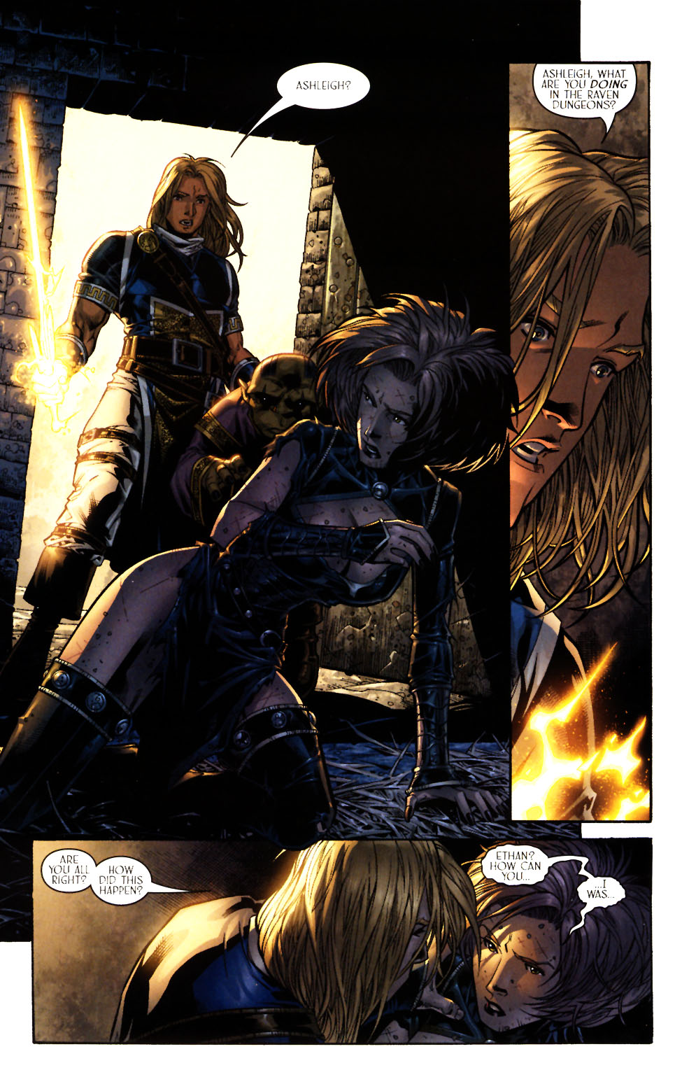 Read online Scion comic -  Issue #13 - 6