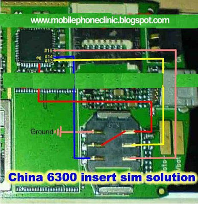 nokia china 6300 insert sim solution