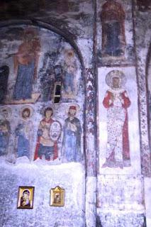 Фреска изображающая царицу тамару