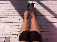 apprendre à nager jambes brasse