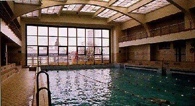 bassin natation bains ville  Bruxelles