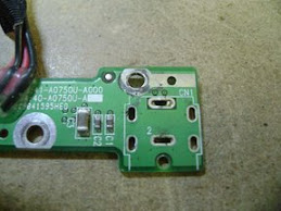 Gateway MX3000 DC Jack De-Soldered