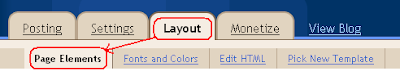 Layout Page Elements