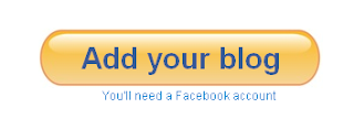 Add your blog using facebook account