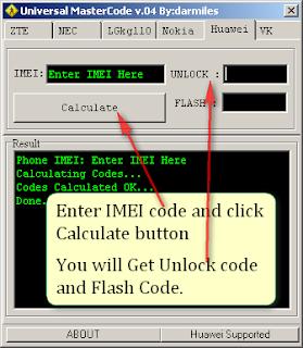 Universal Master Code Generator to Unlock Micromax MMX 610U Airtel USB Datacard