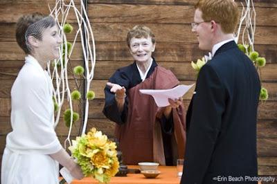 ikebana inspired wedding