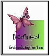 Butterfly Award The Third Award From Brad...