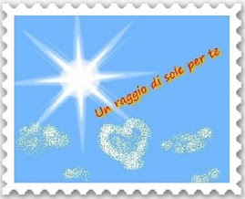 Premio Raggio Di Sole, or Ray of Sun Award from Brad...Thanks!