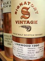 signatory linkwood 1990