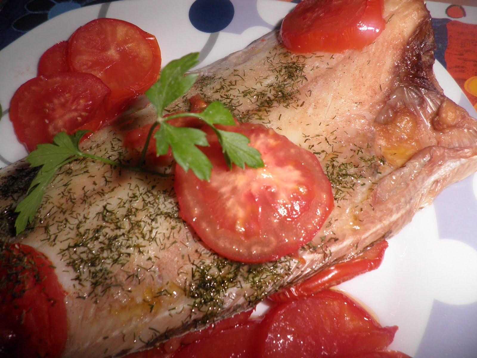 Las recetas de raketi lenguado al horno con tomate - Lenguado al microondas ...