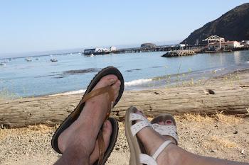 San Luis Obispo Harbor campsite, Day #1: