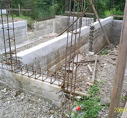 Construccion muros vigas y columnas for Construir muro de bloques