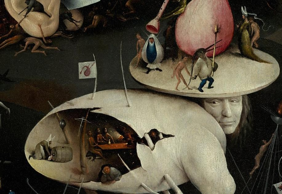 Maria and the magician my impressions for witches and for Bosch jardin des delices