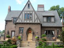 Brick Tudor Style Homes