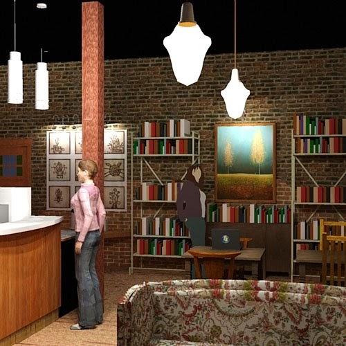 Design interiorcoffee shop design world