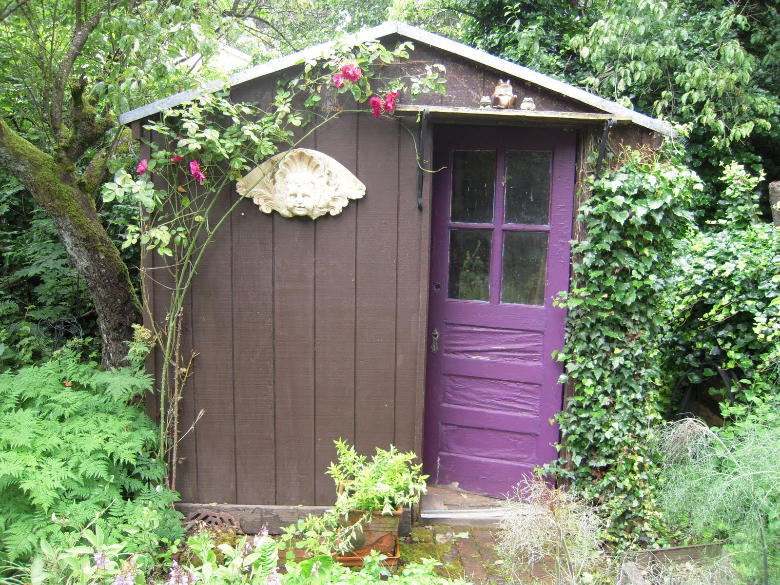 Portland oregon interior design blog to my dear sweet mother - Garden sheds oregon ...