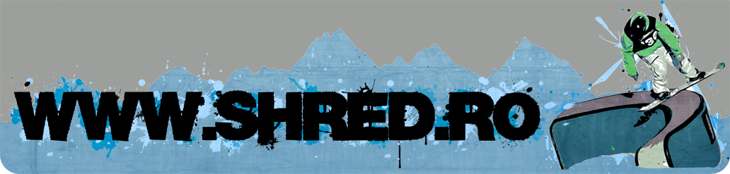 Shred.ro - We love SNOWBOARDING!