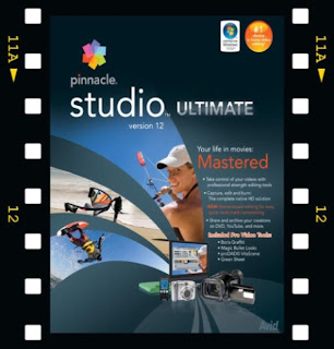 Mi juguete para editar es el Software Pinnacle 12 Ultimatum