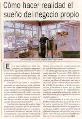"""Reportaje Programa de Micro Peq. Fábricas entregue""""llave en manos"""" Salon Emprendedor"""