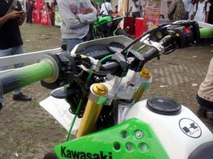 Modification of Kawasaki KLX