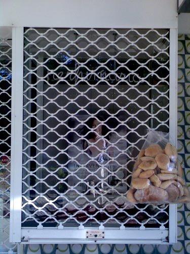 Pão à porta