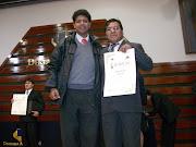 PROFESOR JUAN CAMPO Y LEONCIO LUQUE