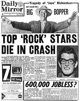 Yes.: The Day The Music Died...