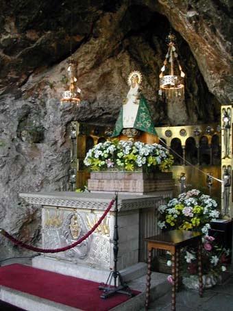 Basílica de Covadonga - Asturias - Acertijo