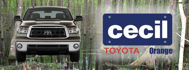 Cecil Toyota Orange
