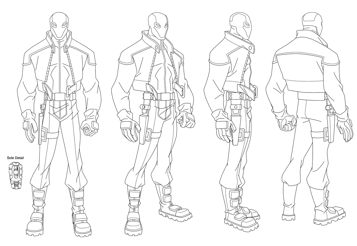 Comic Book Character Design Template : Animation turn arounds on pinterest character
