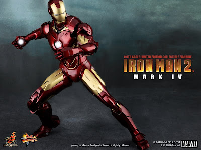 hot toys 1 6th scale iron man